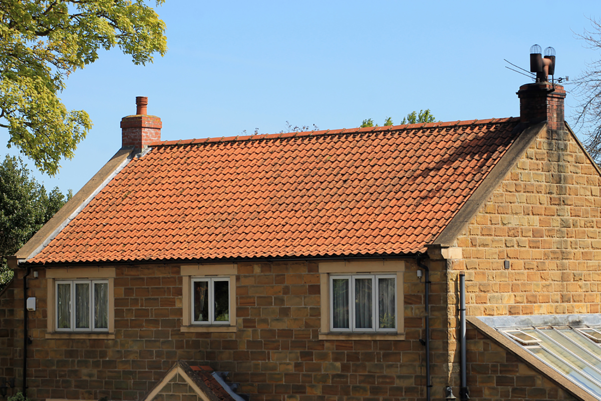 Clay tile roof framework roofing ltd for Clay roofs